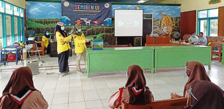 Departemen Geosains FMIPA UI Latih Siswa-Siswi SMP Siap Siaga Darurat Bencana Alam