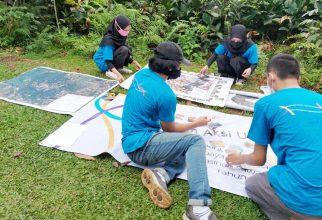 kademisi FMIPA UI Kenalkan Produk Permainan Edukatif Bagi Warga Pengasinan Depok Untuk Tingkatkan Kelestarian Area Wisata Air