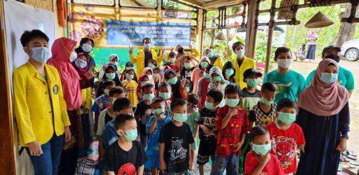 Dosen FMIPA UI Adakan Covidcademy, Edukasi Tangkal Covid-19 Lewat Lagu di Sukarame, Banten