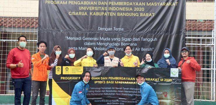 FMIPA UI Hadirkan Solusi Kebutuhan Air Bersih di Bandung