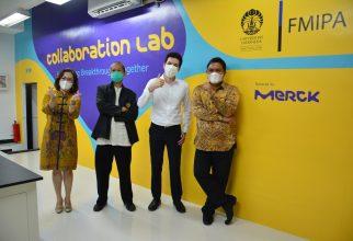 FMIPA UI dan Merck Dirikan Laboratorium Kolaborasi untuk Penelitian Life Sciences