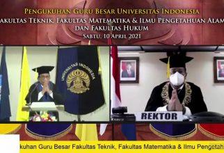 Prof. Dr. Azwar Manaf, M. Met. Dikukuhkan Sebagai Guru Besar FMIPA UI