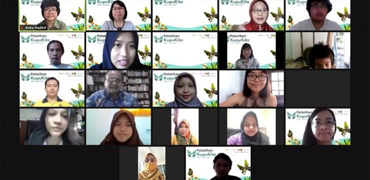 Pelatihan KupuKita: Peran warga dan sains untuk kelestarian kupu-kupu perkotaan