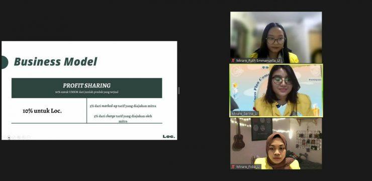 Kembangkan Inovasi Online Marketplace untuk Produk Kebudayaan Indonesia, Tim Mahasiswa FMIPA UI Raih Prestasi pada Choir Express Java Business Competition 2021