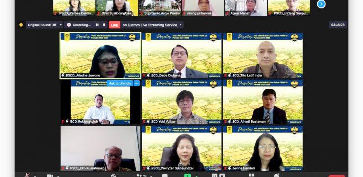 5 Bakal Calon Dekan FMIPA UI Presentasi Visi dan Misi di Hadapan Publik