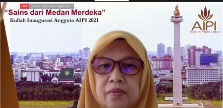 Guru Besar FMIPA UI Terpilih Sebagai Anggota AIPI